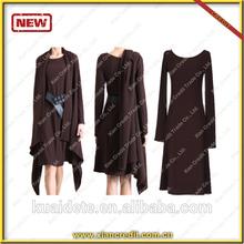 2014 Newest Two- piece winter dress MADE OF 100% woolen for women KDT-D13