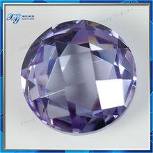 Fancy Xiang Yi Gems Pretty Buy Light Purple Loose Gemstone Cubic Zirconia Gemstone names