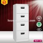 Steel vertical filing cabinet metal storage locker with drawers