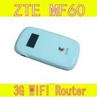 Unlock ZTE MF60 antenna wifi Router 21.6 Mbps 3G Wifi Modem Router Hotspot