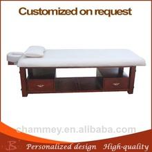 Beauty salon modern top grade solid wood 2 twin facial bed