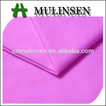 Mulinsen Textile Factory Price Soft Hand Feeling Plain Dyed Cotton Fabrics Poplin