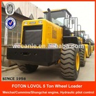 ZL50F, hydraulic pilot 5 ton wheelloader price list