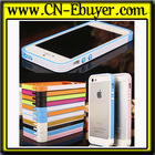 New Design Fashion Two Colors Colorful bumper case cover for Apple iPhone 5 5s