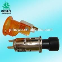 Sinotruk Howo car cigarette lighter WG9100580142 car voltmeter in cigarette lighter