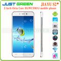 "Jiayu S2 Android 4.2 gsm wcdma double caméras 8 / 13mp hdmi MTK6592 Octa Core 2 gb / 32 gb 5 "" 1920 * 1080 techno mobile téléphone"