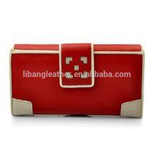 Summer women bifold purses and handbags