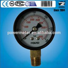 CE,ISO9001,KS approved pressure gauge meter