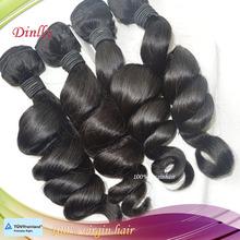 Full ends top quality wholesale hair 100% full cuticle virgin wavy hair weaving