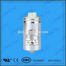 Aluminium Case lamp capacitor CBB80 capacitor (with CE)