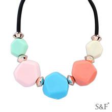 106106 Kore moda toptan butik mücevher toptan tıknaz deyimi kolye