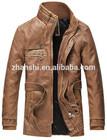 Western Style Fashion Mens Motorcycle PU Leather Jacket