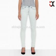 2015 latest design lady denim skinny jeans legging jeans pants(JXW061)