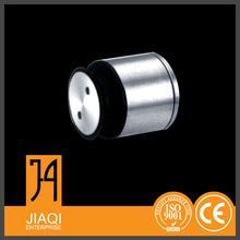 Material de acero inoxidable conector de vidrio / cristal fábrica del equipo 304 de la tela