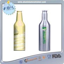 1l aluminum beer bottle,empty beer bottles