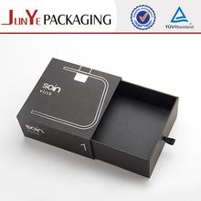 Custom logo professional elegant paper perfume gift packaging box