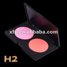 Hot 2 color Matte Color blusher palette nature color blush wet&dry waterproof