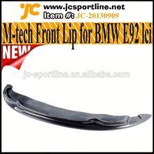 E92 Front Spoiler ARKM Style Carbon Fiber Lip For BMW E92 LCI,fits:E92 M tech Bumper