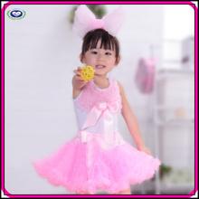 Wholesale baby tutu dress baby girls cheap cute pink bowknot party tutu dress