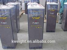 Long Life Lead Acid Battery Home solar system Battery Tubular plate OPZS battery 2v 1000ah