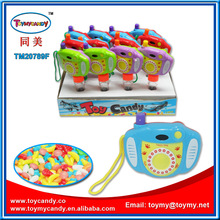 2014 china chenghai toy city best hot selling cortoon camera mini toy with candy promotion selection 1 dollar shop