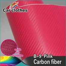 3D Carbon Fiber Vinyl Wrap Carbon Fiber