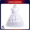 Alibaba best supplier oem Flower sleeveless ball gowns for children