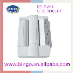 Unique Swiveling Side Socket