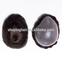 super thin skin toupee custom hair wig top quality human hair wig