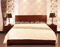 dormitorio cama de madera