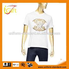 T shirt korea design,T shirt manufacturer manila philippines,Organic cotton t shirt (T460)