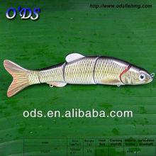 multi section hard plastic fishing lure