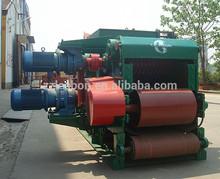 Factory price tree bark grinder drum chipper