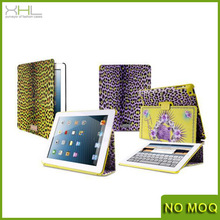 High quality leopard print wholesale leather case for ipad mini manufacturer