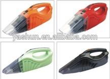 12V multicolor car vacuum cleaner