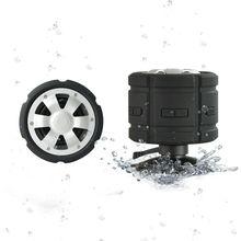 3W waterproof bluetooth speaker looks like car wheel, water resistant ipx7 wireless speaker with MIC