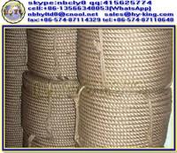 3 strand hemp jute rope for sale , handrail rope abaca , gymnastic rope manila