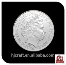 Hot sale Britain's Elizabeth pounds ancient silver coins