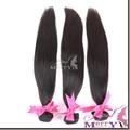 100% extensiones de cabello indio 260g, virgen las mujeres indio del pelo recto sedoso