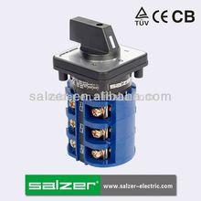 Salzer sa63 cambio sobre el interruptor 1-0-2( tuv, ce y cb aprobado)