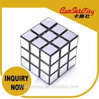 (SF-01417) CarSetCity Fashionable Funny Decor Mugic Cube Parfum Fragrance Silver Musk Scent Perfume Car Air Freshener