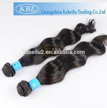 Hair extension annual exports of 50000, 100 human hair bangs