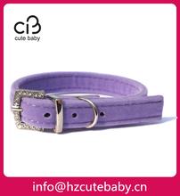 Velvet collars for pet