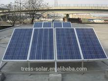 POPULAR!150W poly solar panel for off grid system solar pump system solar light system 130w 135w 140w 145w 150w poly solar panel