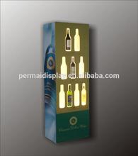 wine display stand,acrylic wine advertising LED display stand ,top-ranking wine display