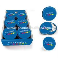 Fresh Breath Supplement mint in Click Clack Tin