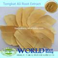 Natural de tongkat ali extracto en polvo 100: 1,200:1 la ampliación del pene sexual cápsula de salud extracto de tongkat ali/tongkat ali en polvo