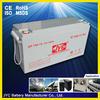 solar cell dry battery 12v 150ah for UPS/EPS/Solar