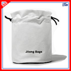 Wholesale Custom Drawstring Cosmetic Bag Satin Pouch and Exported 5 Million Similar PCS To Italy 2014