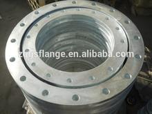 high pressure astm a105 galvanized carbon steel slip on flange
